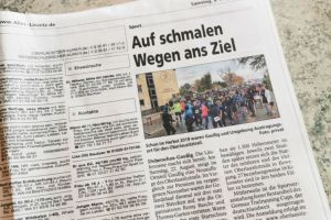 Vorbereitungen & Streckenmarkierung OLT 2020 - Christian Klinger